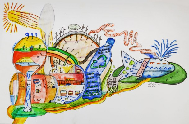 Lilian Grulke, Jugendkunstschule, 12 Jahre