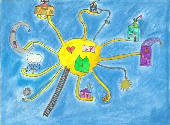 Marlene Kaibel, Jugendkunstschule, 11 Jahre
